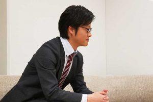 Next C.T.L 転職活動時代について語る園田さん