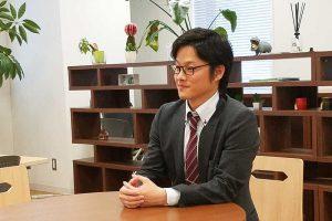 Next C.T.L社員インタビュー 園田さん インタビューの様子