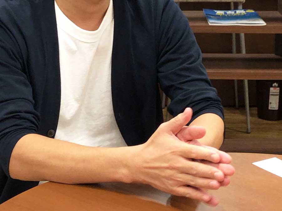 next ctl 後藤さん手元